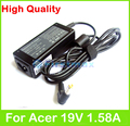 """30W 19V 1.58A AC power adapter Supply for Acer Aspire One 10.1"""" AOD150 AOD250 103 253h NAV50 360 521 522 531 532 533 charger"""