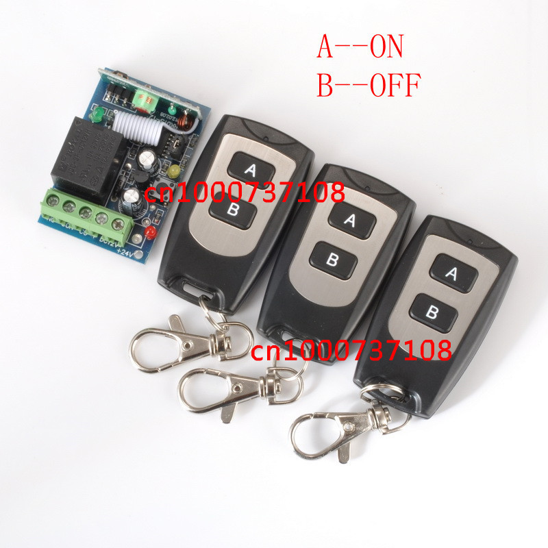 DC12V10A 1CH 1 Receiver And 3 Transmitter FOR Entrance guard door easy to install Learning code free shipping 12v 1ch learning code wireless remote control switch system 1 receiver and 1 transmitter for entrance guard door