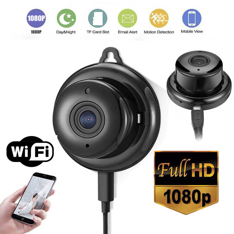 Wireless 1080P HD Intelligent Security Viewer Camera Night Vision  Home Mobile Remote Monitor Detection Camera