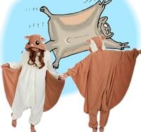 Flying Squirrel Homewear Pajamas Anime Polatouche Cosplay Costume Unisex Adult Onesie Sleepwear Robe