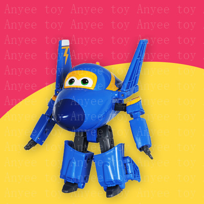 Super Wings Deformation Airplane Transformation Robot Action Figures 15cm