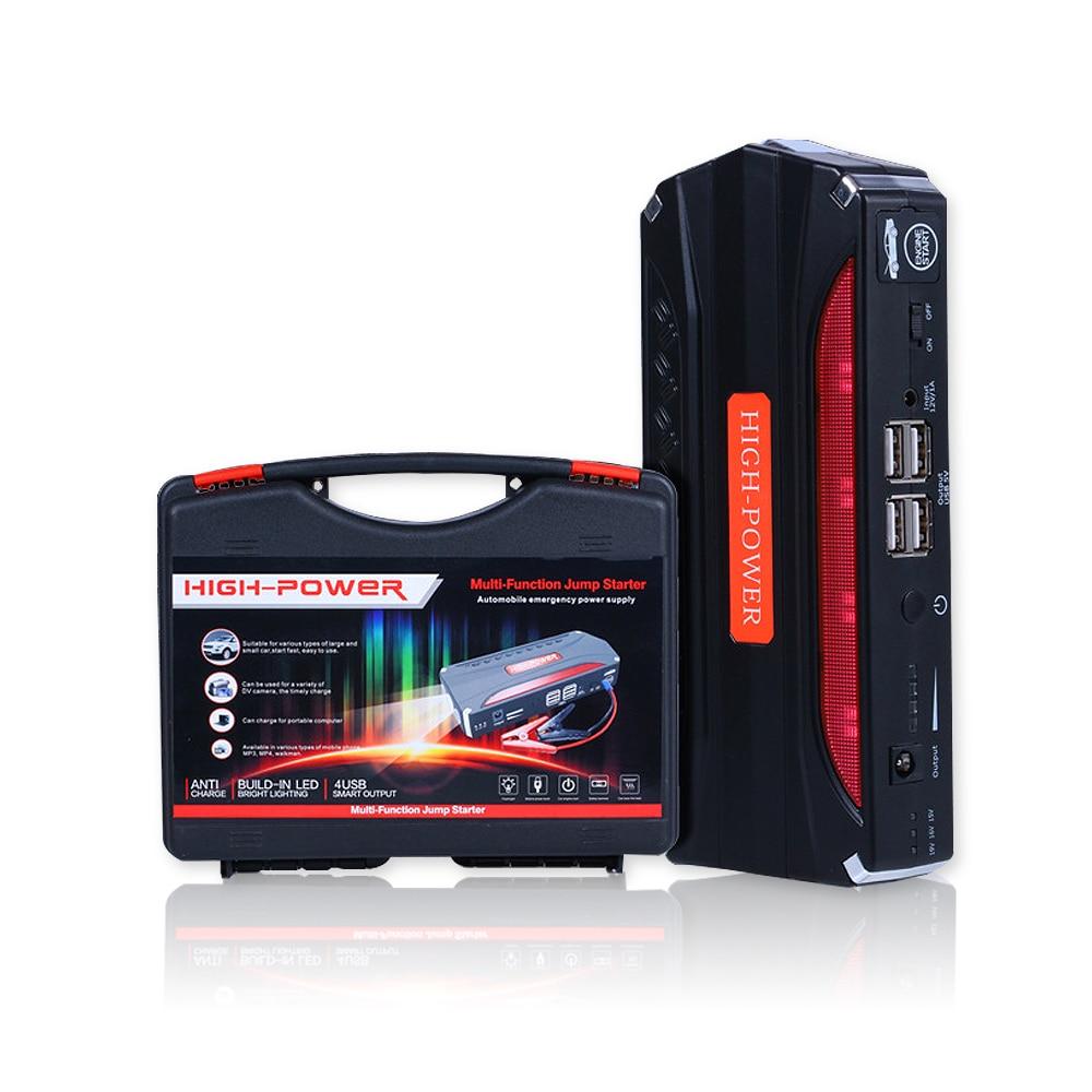 Продвижение multi-Функция мини Портативный аварийного Батарея Зарядное устройство автомобиля Пусковые устройства 68800 мАч Booster Запасные Аккумуляторы для телефонов пусковое устройство