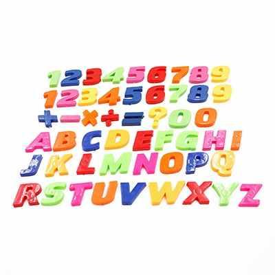 26 шт. DIY наклейки с цифрами 26 букв A-Z наклейки Обучающие 3D Английский алфавит наклейки белая доска Детский магнитный алфавит