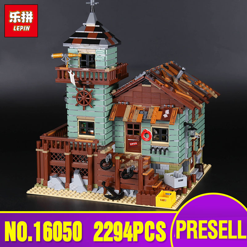 Lepin 16050 Genuine 2109Pcs MOC Series The Old Finishing Store Set 21310 Building Blocks Bricks Education Toys Gift for Children managing the store