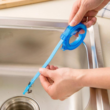 Bathroom Hair Sewer Filter Drain Cleaners Outlet Kitchen Sink Retractable Cleaning Hook Anti Clogging Sink Toilet Dredge