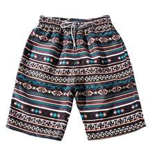 2018 hot sale Plus Size Summer Men Bohe Swimwear Shorts Couples Beach Floral Shorts Trunks Nickel Pants drop shipping Jun 15(China)