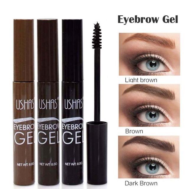 Brand Brown Color Eyebrow Enhancers Eye Brow Tint Gel Waterproof