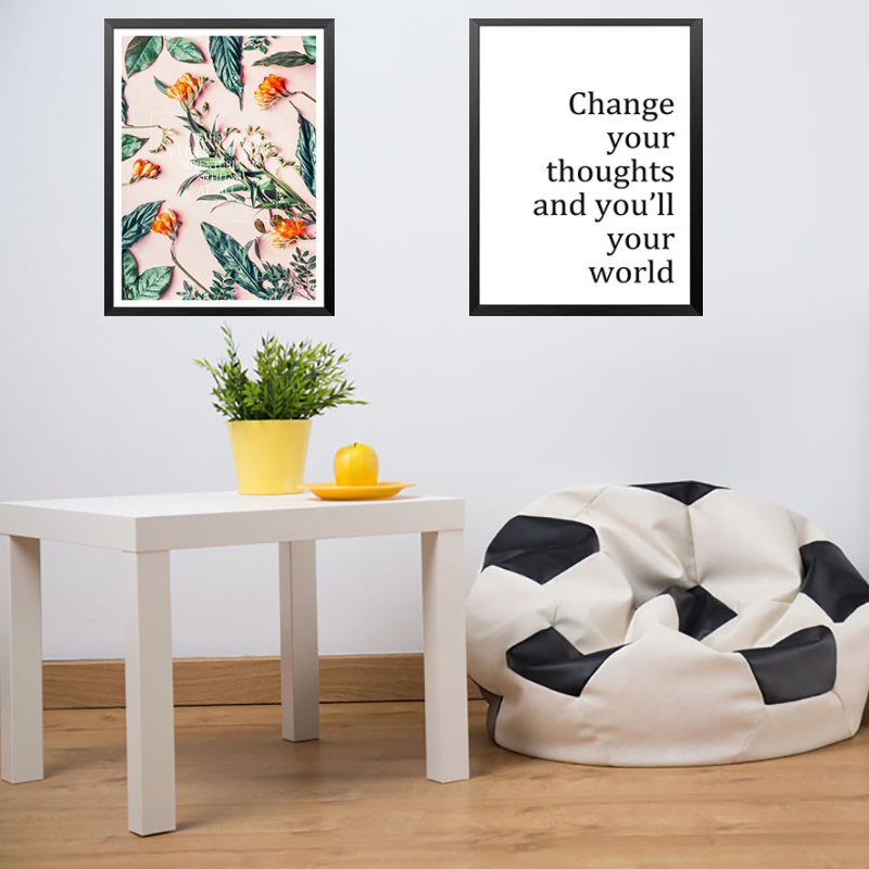 Nordic Poster Plant Pattern Art Canvas Painting Prints Living Room Home Decoration Modern Wall Art Oil Painting Salon Pictures in Painting Calligraphy from Home Garden