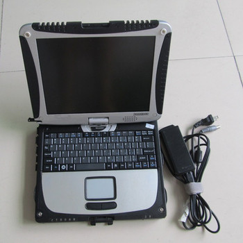 CF19 toughbook used diagnostic computer CF-19 4G Laptop fit for bmw icom a2 mb star c3 c4 c5 vas5054a alldata mitchell software