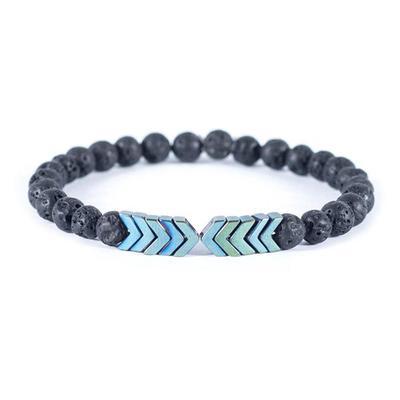 Arrow Lava Stone Diffuser Bracelet