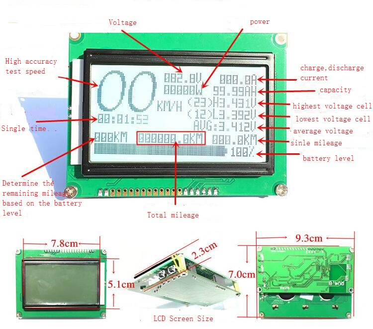 Image 2 - Smart Battery 8S to 24S bms protection Board Bluetooth PHONE APP Lifepo4 li ion 10S 13S 14S 16S 20S 70A/100A/150A/200A/300A-in Replacement Parts & Accessories from Consumer Electronics