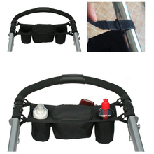 Stroller Accessories Baby Stroller Organizer Cooler and Thermal Bags for Mum Hanging Carriage Pram Buggy Cart Bottle Bags