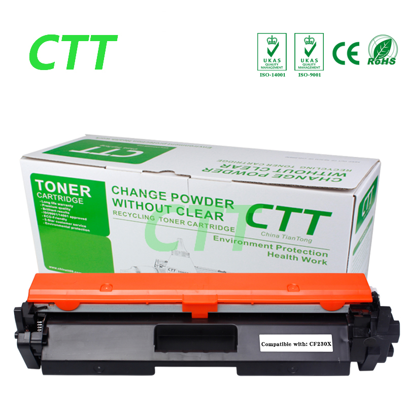 compatible toner For CF230X cf230 for HP LaserJet M203d M203dn M203dw MFP M227fdn M227fdw  Printer Without chip toner reset chip for hp colour laserjet pro m252dw m252n mfp m277dw m277n printer cartridge 201a cf400a cf401a cf402a cf403a