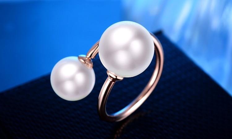 Perla me cilësi të lartë margaritar 925 argjendi të pastër, me - Bizhuteri të bukura - Foto 3