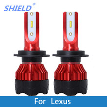 Car Headlight Bulb LED H1 H7 H4 H11 9005 CSP 8000Lm 6500K 12V Auto Light For Lexus GS300/IS200/LS400/GX460/Rx450h/IS250/RX300(China)