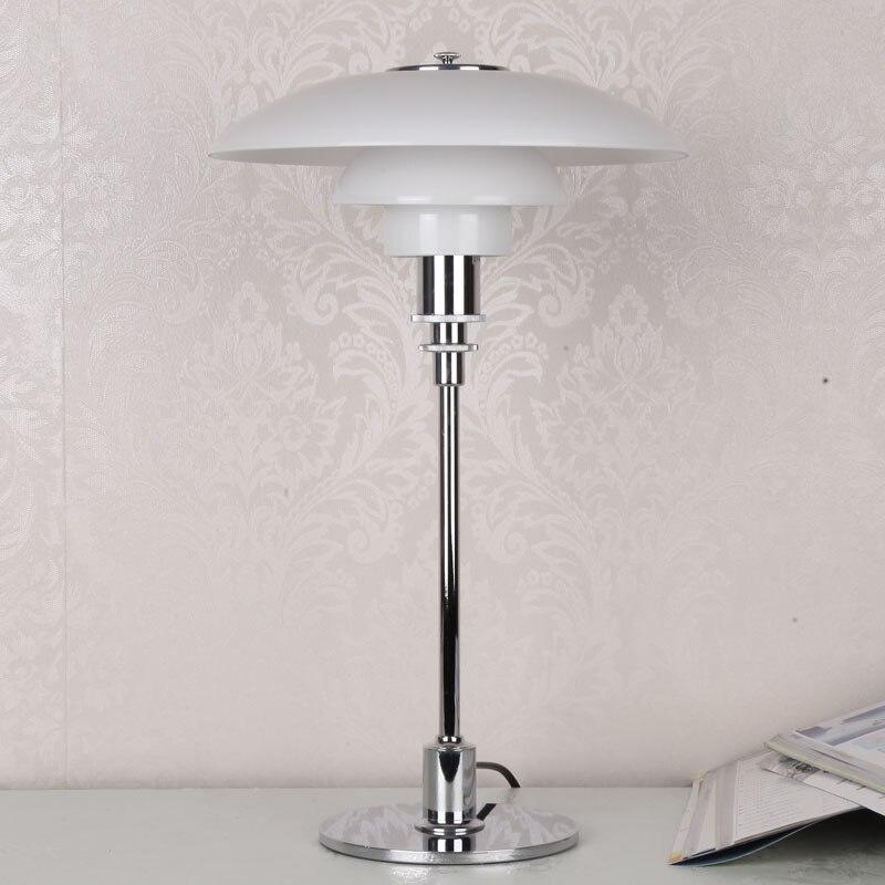 Grande lampe de bureau européenne chambre à coucher lampe de style de table Studay Lampara Led Escritorio Abajur Leitura moderne