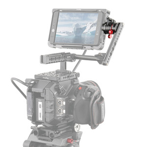 "Image 5 - SmallRig EVF הר DSLR אוניברסלית מצלמה Rotatable צג מצלמה הר עם נאט""ו מהדק כדי לתקן צג עם מצלמה 2141"