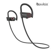 COULAX Bluetooth Headphones Sports Wireless Headset IPX7 Waterproof Earbuds In Ear Earphones With Mic Sweatproof Headphone