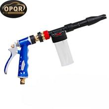 Water Soap Shampoo Sprayer Car Washer Snow Foamer Water Gun Profession cleaner car washer blue Foam Gun Snow Foam Lance цена