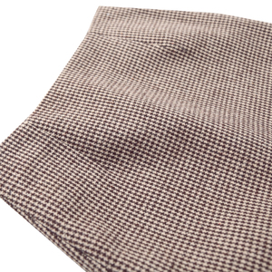 Image 3 - Flectit Fall Winter Warm Wool Houndstooth High Waist Pencil Midi Skirt Slim Knee Length Back Split Work Skirt Plus Size S  XXL