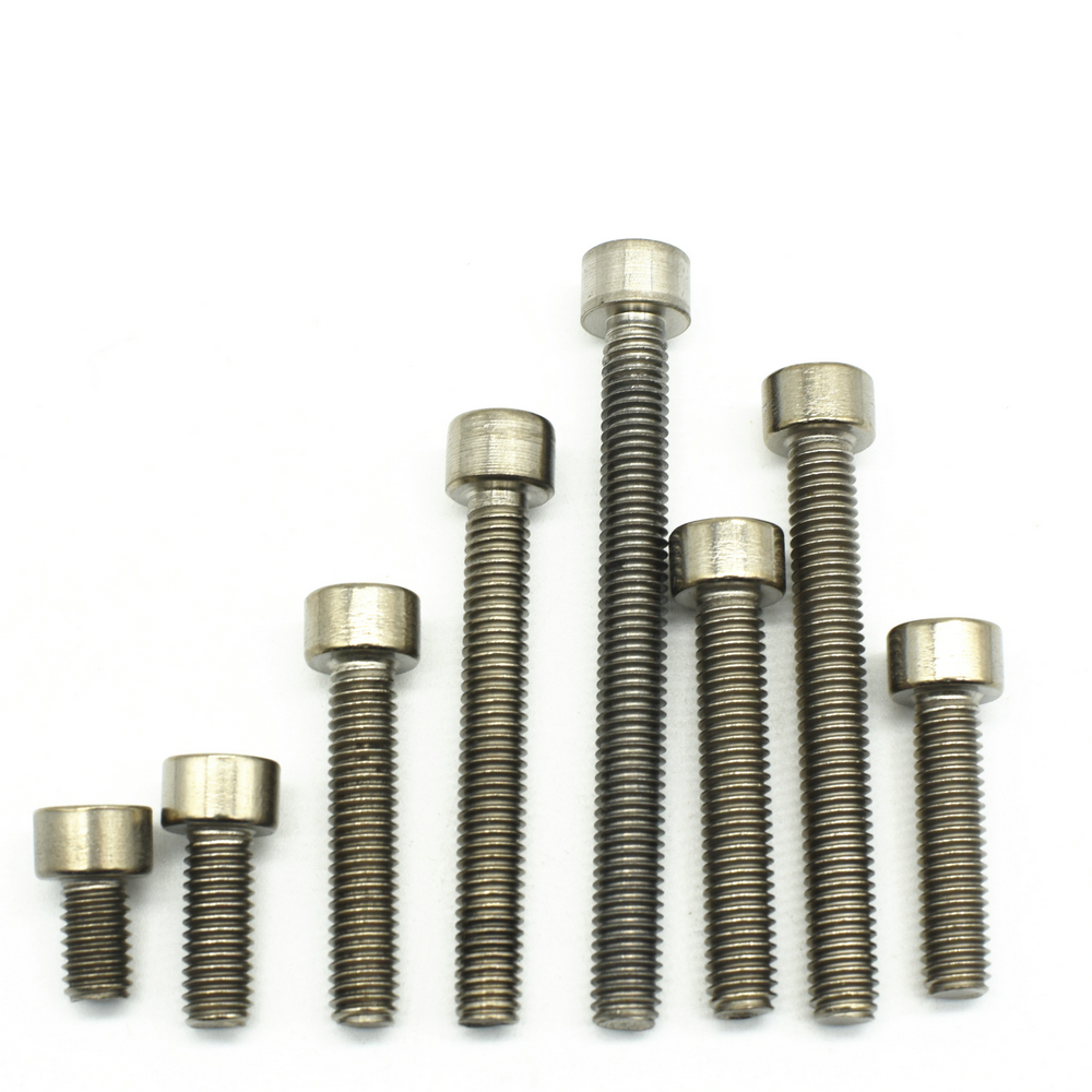 Titanium Ti M6 Motorcycle 3 Colors Bike Flange Bolts Screw Nuts Gr5 Pack of 6