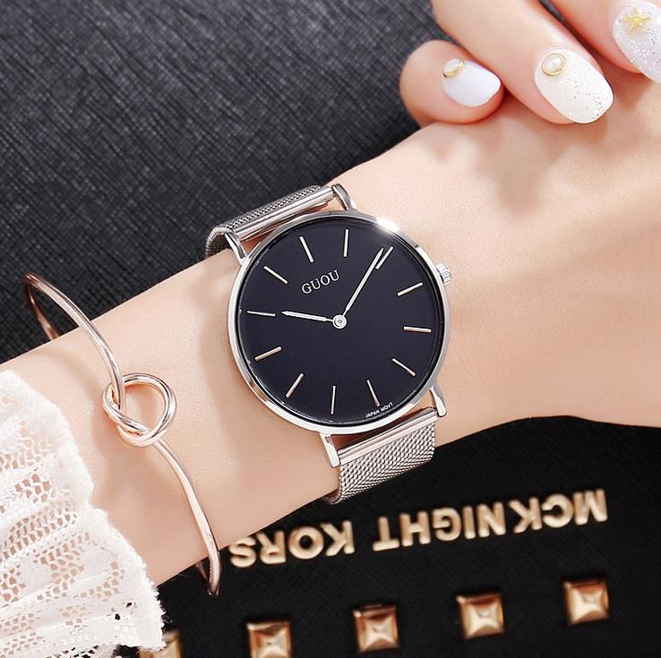 Mens Top Brand Luxury Fashion Watch Men Ultra Thin Gold Steel Mesh Watches Women Dress Quartz Lovers Watch orologio uomo yoner men watches 2016 luxury brand hot mens watches for sale online mens dress watch mont black watch leather orologio uomo