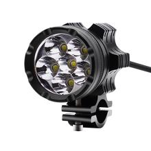 Universal 12V Motorcycle Refit Headlight Vintage Round Head Light Scooter Motorbike Motor Front Headlights Lamp