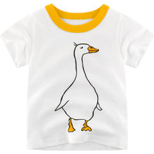 2019 Детские футболки для мальчиков летние топы маленьких девочек