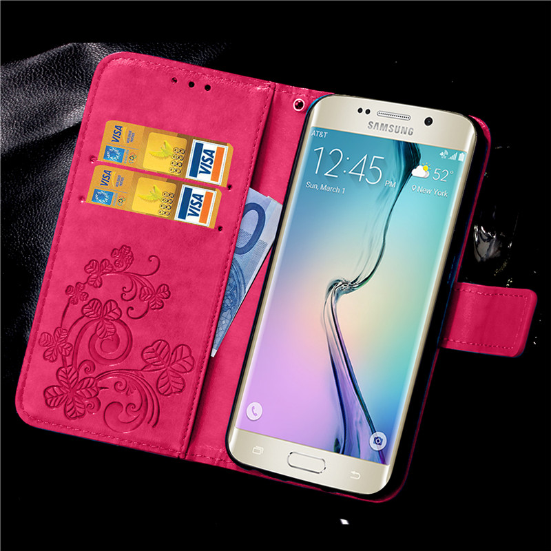For Cover Samsung Galaxy S6 G9200 s6edge Wallet Style Flip