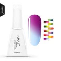 Azure Beauty UV Nail Gel Temperature Change Color LED UV Gel Polish 12ml 1pcs Nail Gel for Nail Soak-off Changing Gel Polish