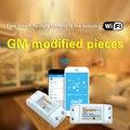 3 unids sonoff sonoff interruptor remoto inalámbrico, wifi interruptor temporizador controlado by phone app para domótica inteligente wifi centro
