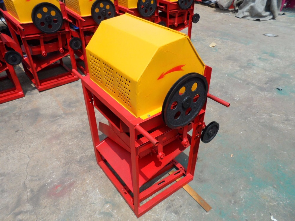 150*125 Stone Jaw Crusher Environmental Dust-proof Crusher Small Lab Jaw Crusher Small Stone Crusher With 400-3000kgs/h Capacity