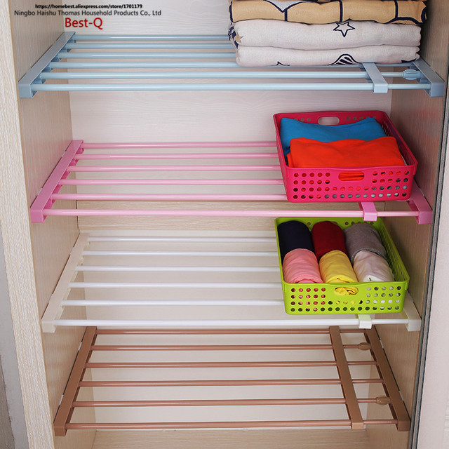 Free shipping partition board storage frame, nail free telescopic ...