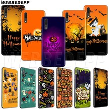 WEBBEDEPP Happy Halloween TPU soft case for Huawei P8 P9 P10 P20 P30 Y5 Y6 Y7 Y9 P smart Lite Pro Prime Mini(China)