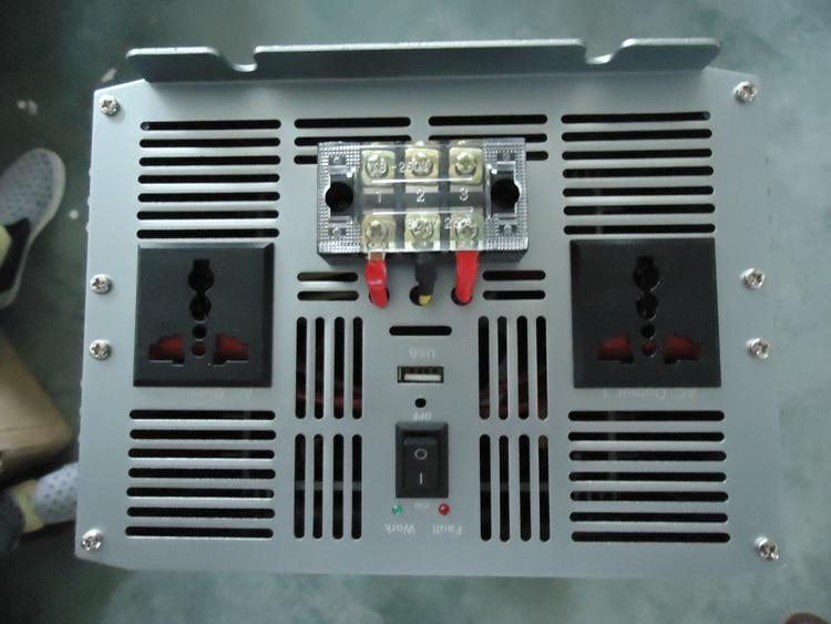 10000W Pure Sinus Solar Power Inverter Dc 12 V 24 V 48 V Naar Ac 220 V 110 V Converter Adapter Met Usb Lader Piekvermogen 20000W - 3