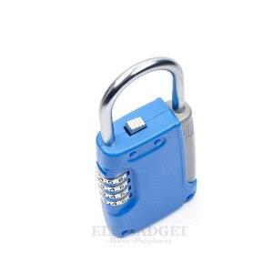 Image 3 - New Mini Key Safe Box Hidden Organizer 4 Digital Password Lock House Villa Car Caravan Spare Keys Storage Box Drop Shipping