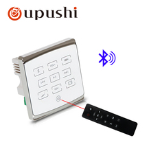 Smart Home Audio system,music system,Ceiling Speaker system,Bluetooth digital stereo amplifier, in wall amplifier with touch key