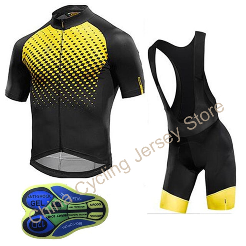 2019 Mavic Cycling Jersey set Pro Team Men breathable Bike Clothing bicycle clothes 12D Shorts Mountain Wear Ropa Ciclismo #3152019 Mavic Cycling Jersey set Pro Team Men breathable Bike Clothing bicycle clothes 12D Shorts Mountain Wear Ropa Ciclismo #315