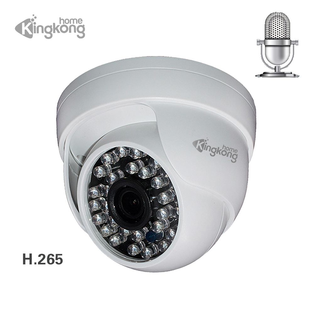 Kingkonghome 4MP 1080P IP Camera Built-in Microphone Audio Surveillance onvif night vision CCTV Security indoor dome ip cam p2pKingkonghome 4MP 1080P IP Camera Built-in Microphone Audio Surveillance onvif night vision CCTV Security indoor dome ip cam p2p