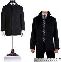 Hot sell thicking men's splice woolen clothing casual medium-long overcoat for the mens winter jackets and coats 2017 M – 3XL