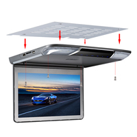 11.6 inch Multi Media Player Roof Monitor with USB SD HDMI IR FM transmitter MP5 Player