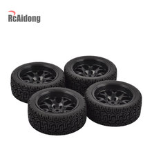 RC On-Road Car Rubber Tyre & Velg voor 1:10 HSP HPI RC Drift On-Road Racing auto(China)