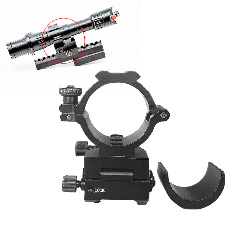 Picatinny Rail Scope Rings Tactical Mount Tube Diameter 25 4mm and 30mm Gun Accessories Adjustable Mounts