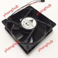 DELTA AFB1212HHE R00 DC 12V 0.70A 3 wire 120x120x38mm Server Cooler Fan