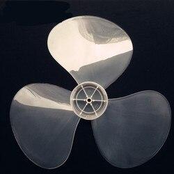 1pcs Big wind 16 inch 400mm plastic fan blade White 3 leaf universal brand fan