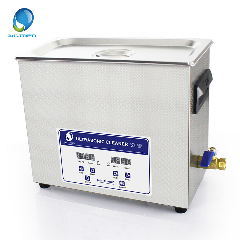 Skymen Digital Ultrasonic Bath Cleaner 6L 6.5L 180W free shipping 110v 220v k 105 0 6l digital ultrasonic bath small cleaner