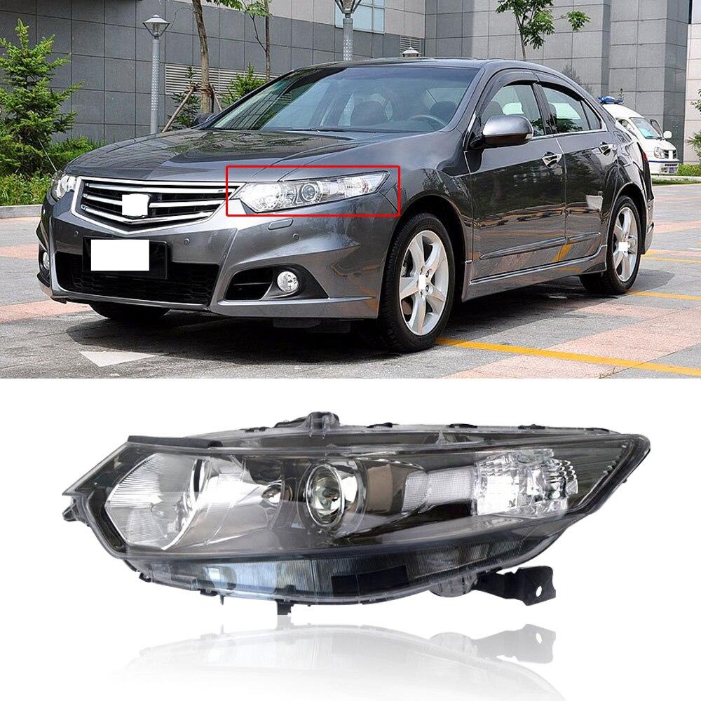 CAPQX For Honda Europe Accord SPIRIOR CU1 CU2 2009-2012 Front Bumper Headlight Headlamp Head Lamp Xenon HID Head Light Assembly