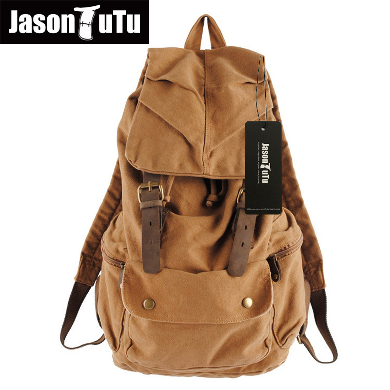 New Vintage Backpack Fashion Canvas Backpack Leisure Travel School Bags Unisex Laptop Backpacks Men Backpack Mochilas FB1124 new fashion vintage backpack canvas backpack teens leisure travel school bags laptop computers unisex backpacks men backpack