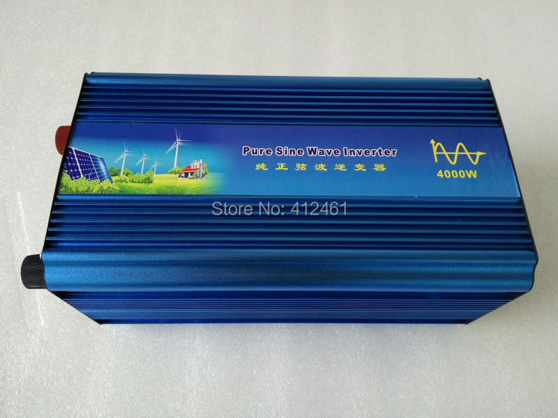 high quality 4000w pure sine wave inverter with  off grid 12V 24V dc to 110v/220v ac solar power inverterhigh quality 4000w pure sine wave inverter with  off grid 12V 24V dc to 110v/220v ac solar power inverter