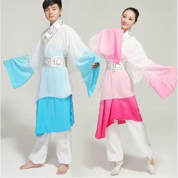 (0154) Chinese Classical dance hanfu Drama man/woman Myth love story Chinese Romeo and Juliet drama stage performance folk dance